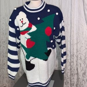 Vintage acrylic sweater , good shape